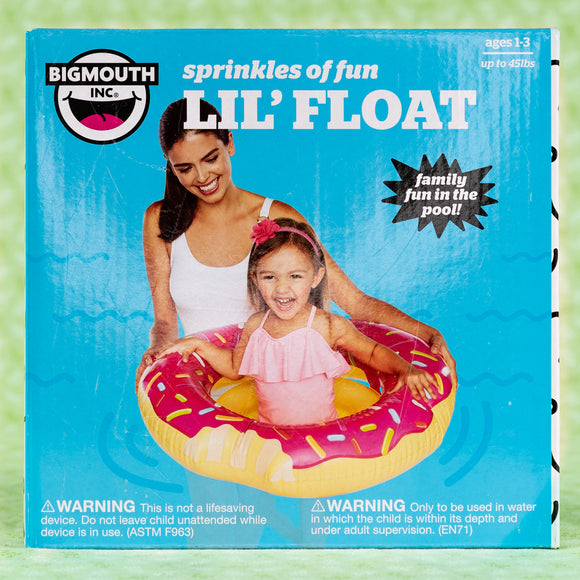 Pool Float Donut- Sprinkles of Fun