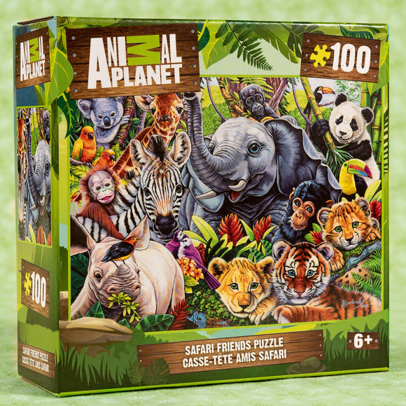 Animal Planet Safari 100 Piece Puzzle