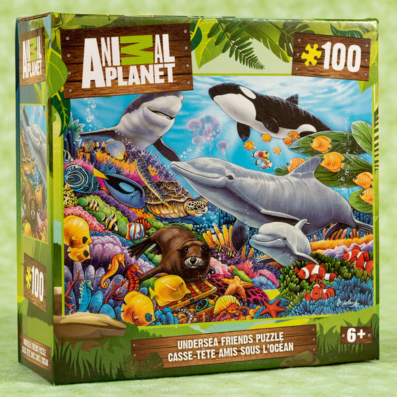 Animal Planet Undersea 100 Piece Puzzle
