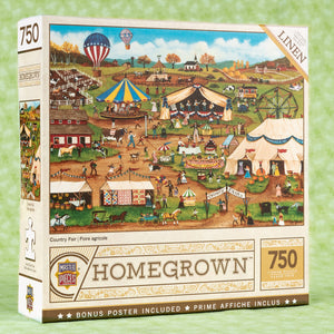 Country Fair 750 Piece Puzzle
