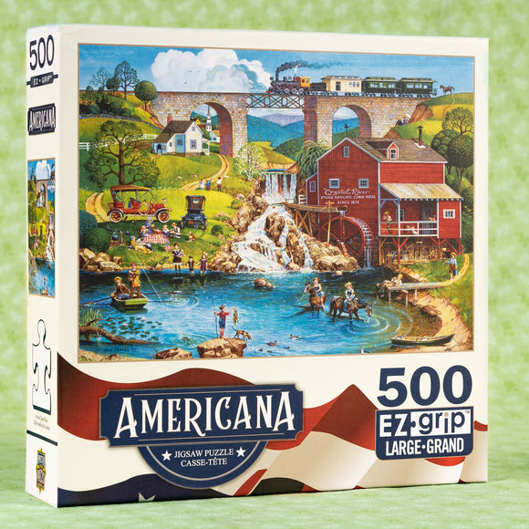 Labor Day 1909 500 Piece Puzzle
