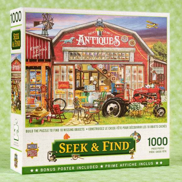 Antiques For Sale 1000 Piece Puzzle