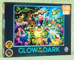 Abracadabra Glow In The Dark 60 Piece Puzzle