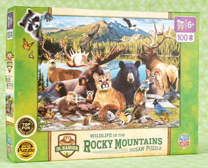 Wildlife of the Rocky Mountains 100 Piece Puzzle