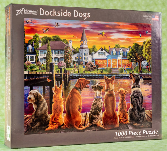 Dockside Dogs 1000 Piece Puzzle