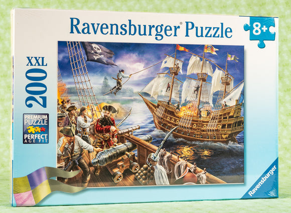 Blackbeard's Battle 200 Piece Puzzle