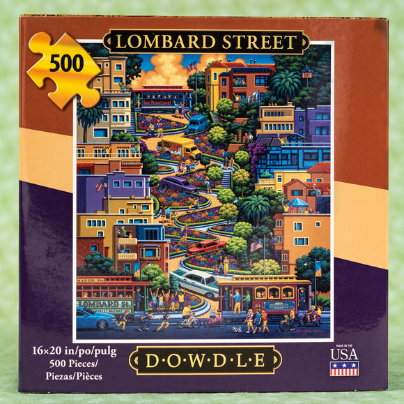 Lombard Street 500 Piece Puzzle