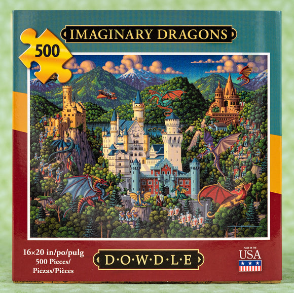 Imaginary Dragons 500 Piece Puzzle