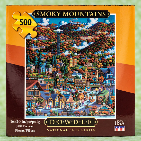 Smoky Mountains National Park 500 Piece Puzzle