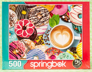 Donuts n' Coffee 500 Piece Puzzle
