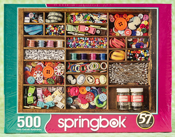 The Sewing Box 500 Piece Puzzle