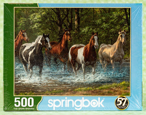Summer Creek 500 Piece Puzzle (Horses)