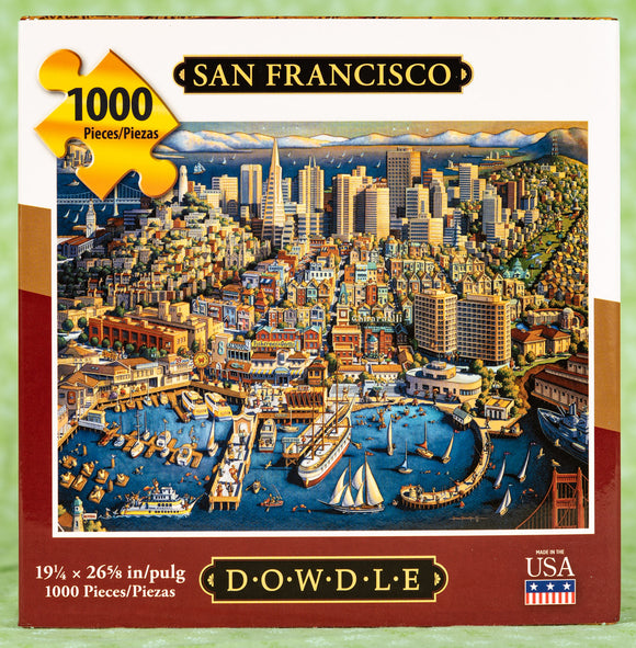 San Francisco 1000 Piece Puzzle