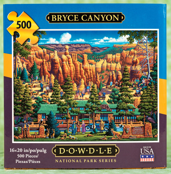 Bryce Canyon 500 Piece Puzzle