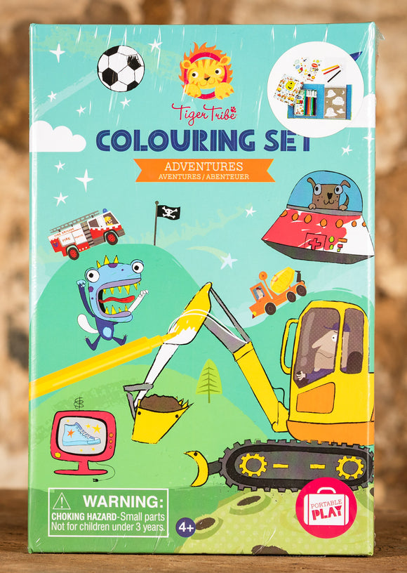 Adventures Colouring Set