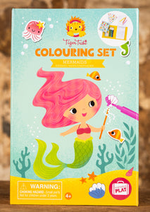 Mermaids Colouring Set