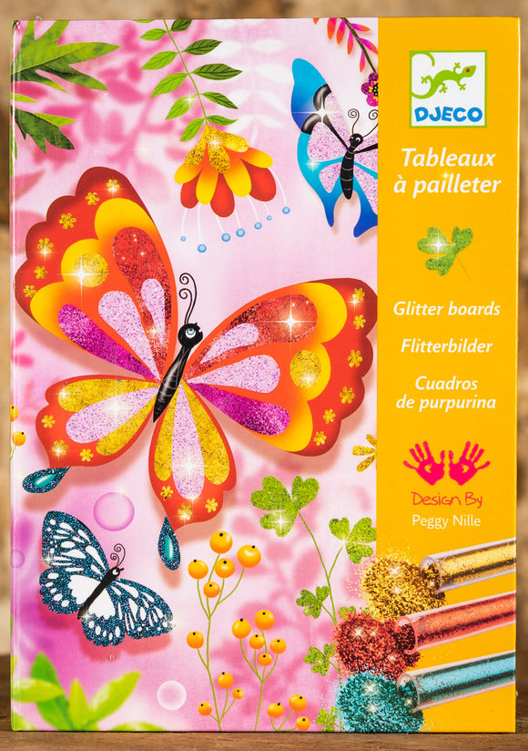 Glitter Boards - Butterflies