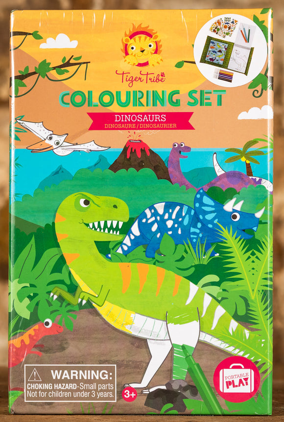 Dinosaurs Colouring Set