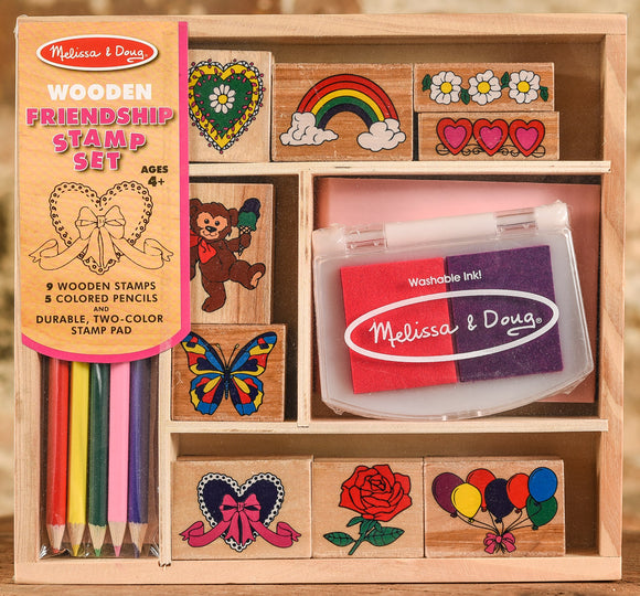 Wooden Stamp Set - Friendship