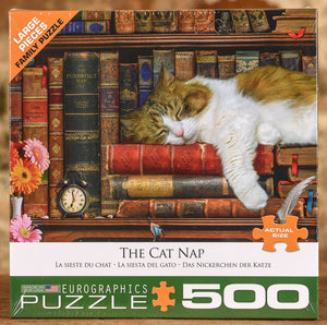 The Cat Nap 500 Piece Puzzle