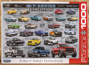 Ford F-Series Evolution 1000 Piece Puzzle