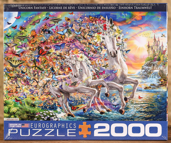 Unicorn Fantasy 2000 Piece Puzzle