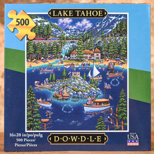 Lake Tahoe 500 Piece Puzzle