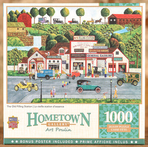 The Old Filling Station 1000 Piece Puzzle