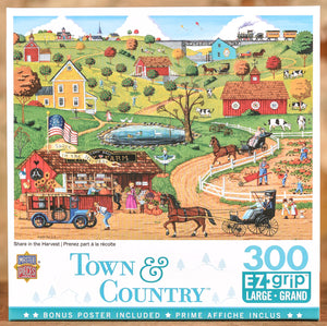 Share in the Harvest 300 Piece Puzzle
