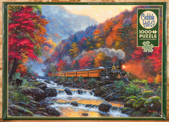 Smokey Train 1000 Piece Puzzle