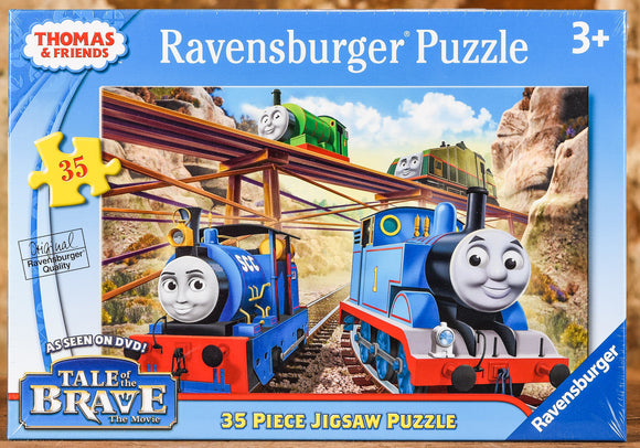 Thomas Tale of the Brave 35 Piece Puzzle