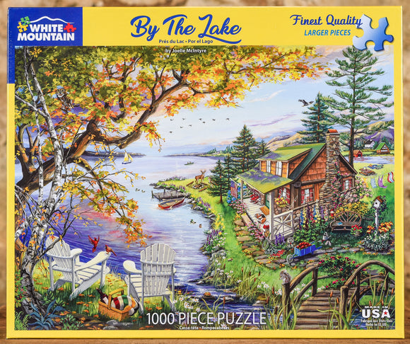 By The Lake 1000 Piece Puzzle