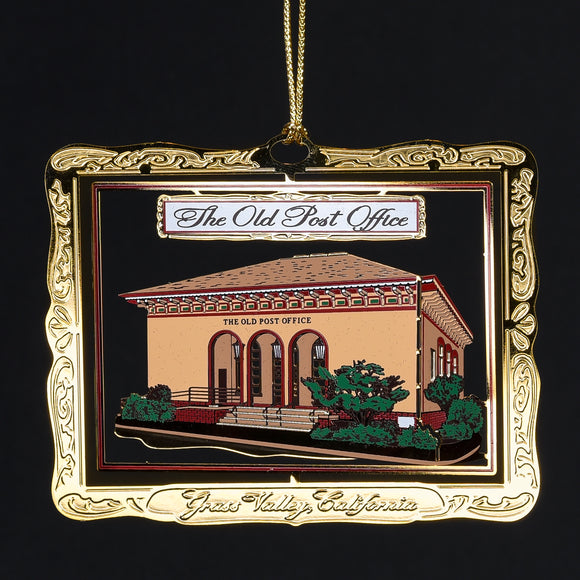 Downtown Grass Valley Ornament - The Old Post Office (2007)