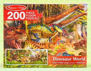 Dinosaur World 200 Piece Floor Puzzle