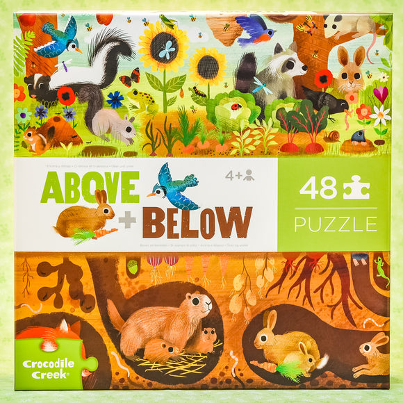 Backyard 48 Piece Puzzle - Above and Below