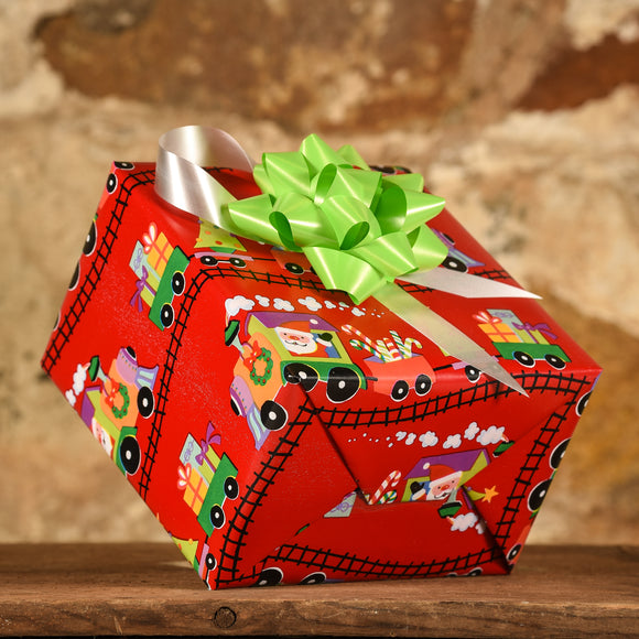 Complimentary Gift Wrap: The Santa Train