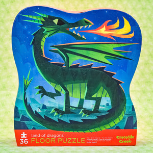 Land Of Dragons 36 Piece Puzzle