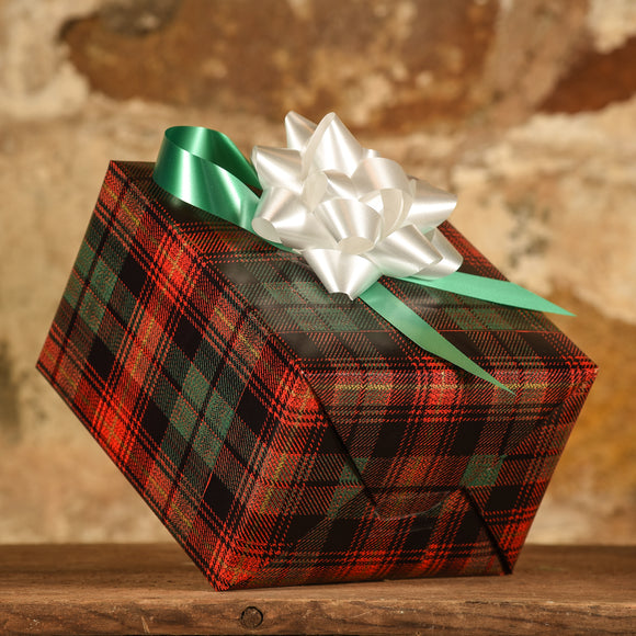 Complimentary Gift Wrap: Classic Plaid