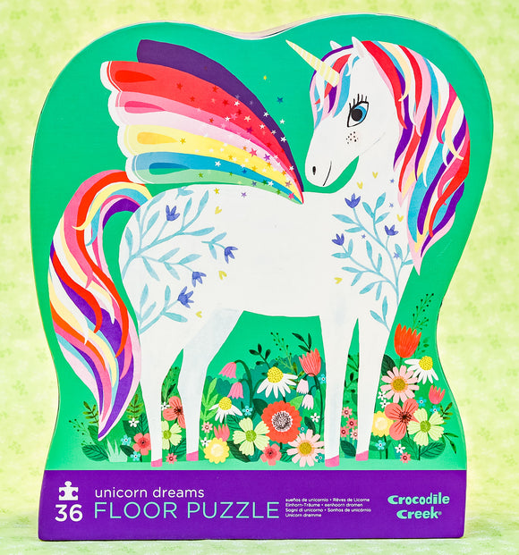 Unicorn Dreams 36 Piece Floor Puzzle