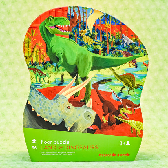 Land Of Dinosaurs 36 Piece Floor Puzzle