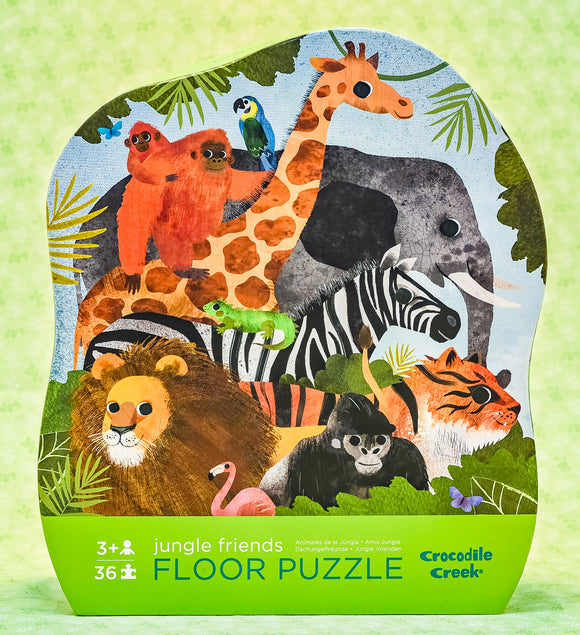 Jungle Friends 36 Piece Floor Puzzle
