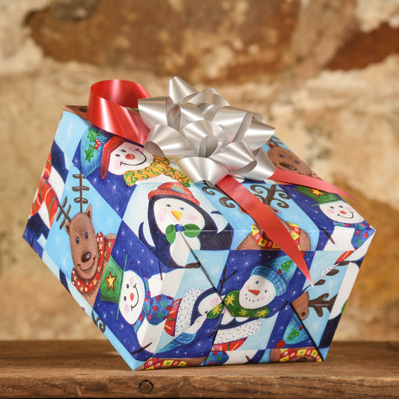 Complimentary Gift Wrap:  Penguins, Reindeer, and Snowmen - Oh My!