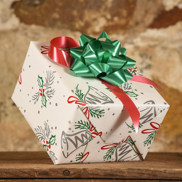 Complimentary Gift Wrap:  Silver Bells