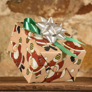 Complimentary Gift Wrap: Jolly Santa Claus