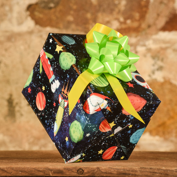 Complimentary Gift Wrap: Rockets