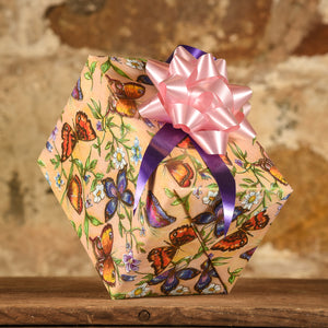 Complimentary Gift Wrap: Butterflies & Flowers
