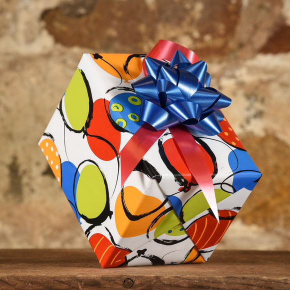 Complimentary Gift Wrap: Balloons