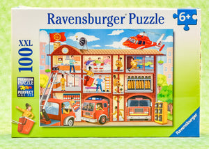Firehouse Frenzy 100 Piece Puzzle