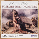 Wolf - Fine Art Body Painting 1000 Piece Puzzle