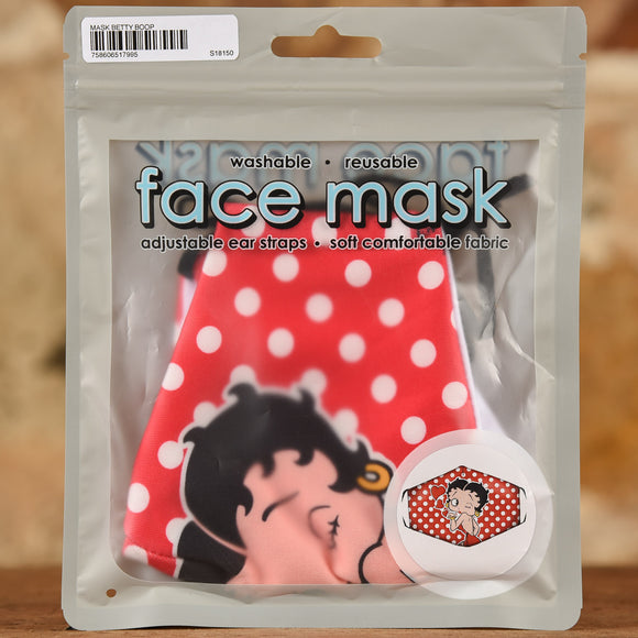 Betty Boop Mask- Adult Size